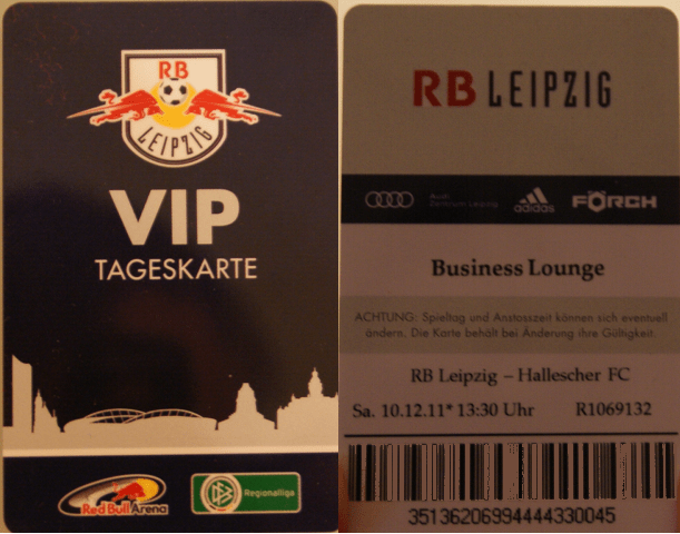 Vip Tickets Rb Leipzig