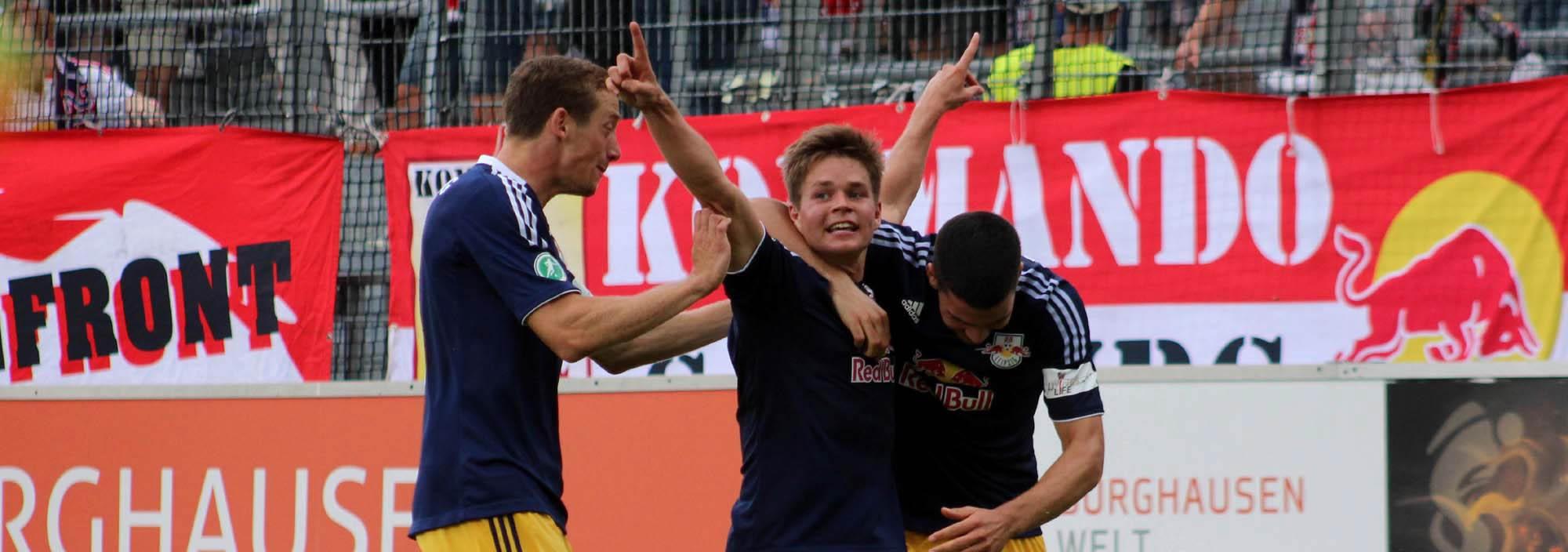 3.Spieltag_Wacker Burghausen - RB Leipzig