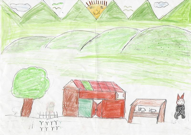 Zeichnung Nepal